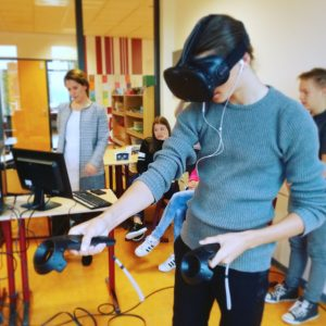 Virtual reality in de klas